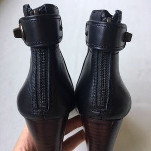 Coach Classic Black Ankle Boot